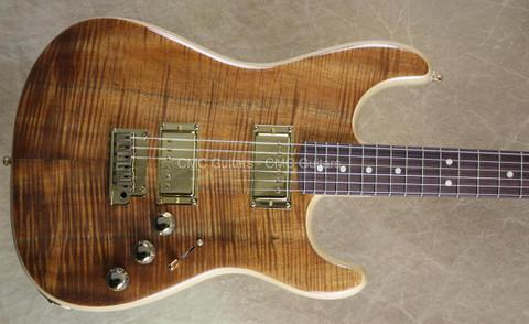 Fender Custom Shop Statocaster Masterbuilt Yuriy Shishkov Koa Strat Guitar