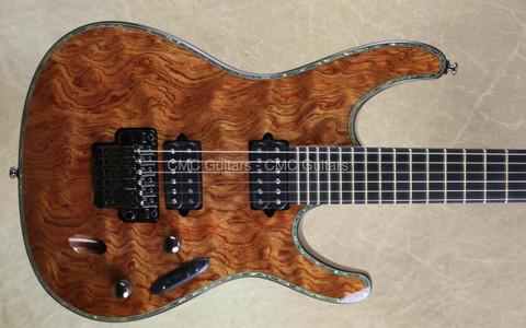 Ibanez SIX20 DGBNT Iron Label Bubinga Electric Guitar