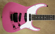 Jackson USA Custom Shop Soloist 3S Jeff Beck Style Platinum Pink Guitar