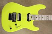 Charvel Pro Mod San Dimas Style Neon Yellow Guitar