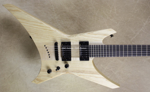 Jackson USA Custom Shop Chambered Ash Topless WR1 Warrior Guitar