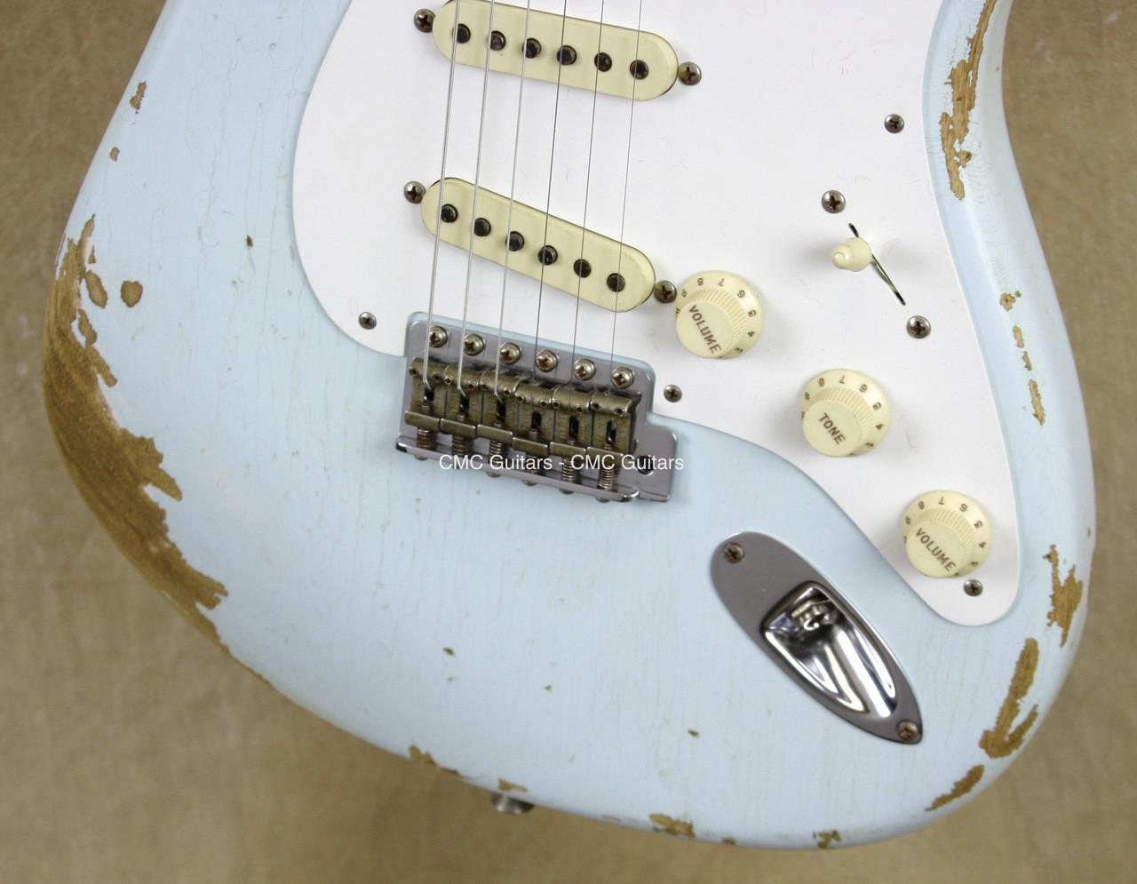 Fender Custom Shop LTD \'56 Strat Heavy Relic NAMM Stratocaster Faded ...