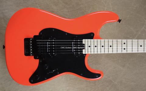 Charvel Pro Mod So-Cal Style Rocket Red Guitar w/FU Tone Big Block