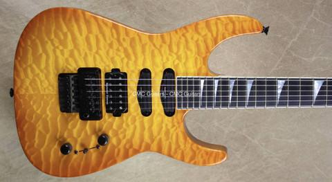 Jackson USA Custom Shop DK-Q HSS Dinky Solar Guitar