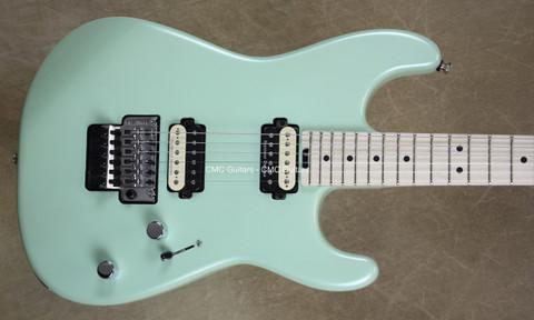 Charvel Pro Mod San Dimas Style Specific Ocean Guitar with FU Tone Big Brass Block