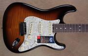 Fender American Stratocaster 2016 Limited Edition Elite Strat 2 Tone Sunburst Guitar