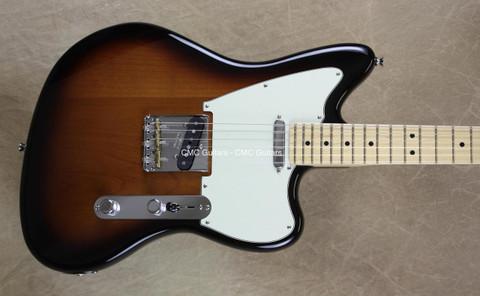 Fender 2016 LTD American Standard Tele Offset Telecaster 2 Tone Sunburst Guitar