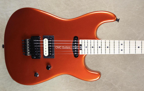 Charvel USA San Dimas Custom Shop HS Candy Tangerine Guitar