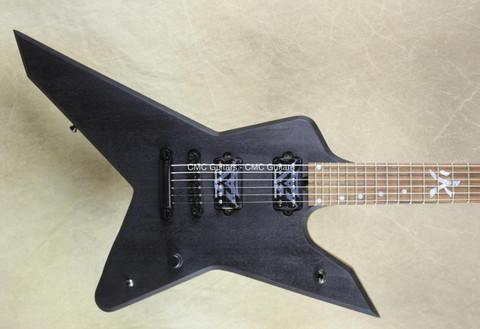 Liuteria ROX Gus G Stealh RS Natural Satin Oil Finish Guitar