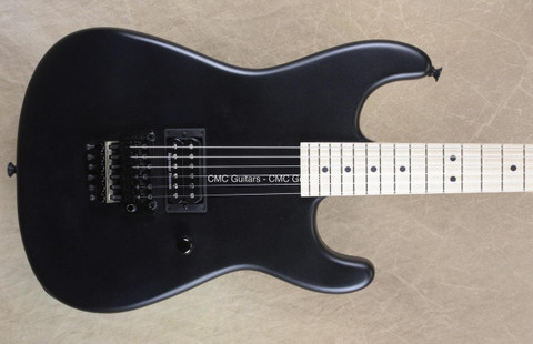 Charvel USA San Dimas Custom Shop 1H Satin Black Guitar