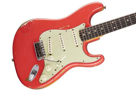 Fender Custom Shop LTD John Cruz Masterbuilt Gary Moore Strat Fiesta Red Stratocaster Guitar
