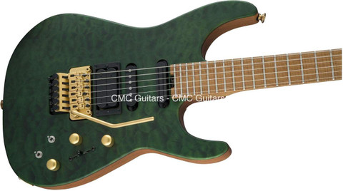 Jackson USA Signature PC1 PHIL COLLEN Satin Trans Green Guitar