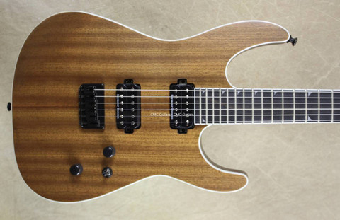 Jackson Pro Series Soloist SL2 HT Natural Mahogany Guitar