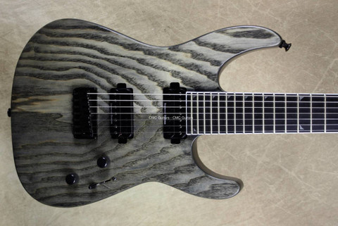 Jackson Pro Series Soloist SL7 HT Ash Charcoal Grey 7 String Guitar