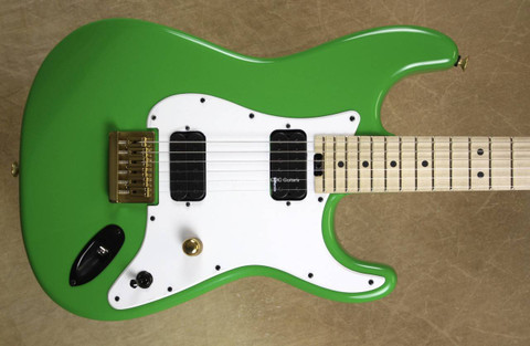 Charvel USA Custom Shop SoCal Hard Tail Green Meanie Guitar
