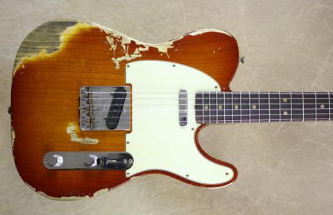 Fender Custom Shop 60's Relic LTD Edition NAMM Telecaster Faded Violin Burst Tele Guitar