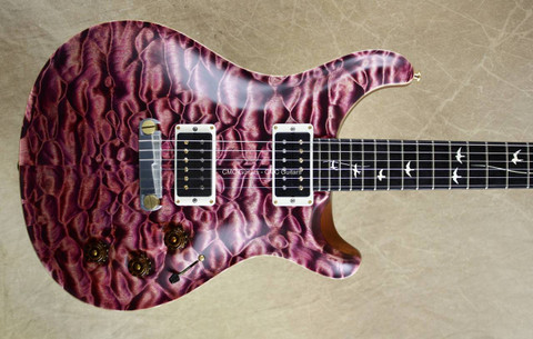 PRS Paul Reed Smith Private Stock DGT David Grissom Mammoth Ivory Inlay Pomegranate Guitar