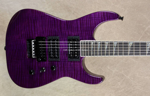 Jackson USA Custom Shop SL2H Soloist Trans Purple Guitar