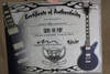 Dean Cadi LTD 40th Anniversary Flip Blue Purple Cadillac Guitar