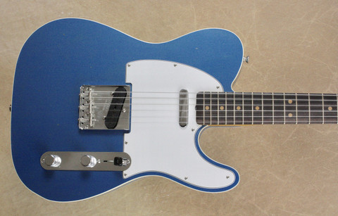 Fender Custom Shop '63 Telecaster Custom Journeyman Closet Classic Lake Placid Blue Guitar
