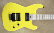 Charvel USA San Dimas Custom Shop 2H Graffiti Yellow Guitar