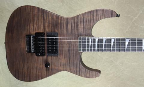 Jackson USA Custom Shop SL 1H Soloist Walnut Stain Guitar
