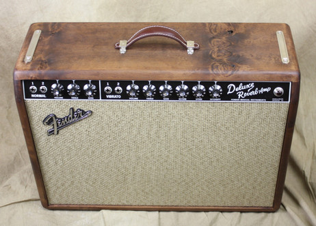 Fender LTD '65 Deluxe Reverb Pine Cabinet Guitar Amplifier