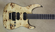 Jackson Pro Series SL2P MAH Mahogany Soloist Poplar Burl Top Desert Sand Guitar
