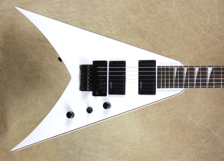 Jackson X Series King V KVX Snow White with Black Binding Guitar