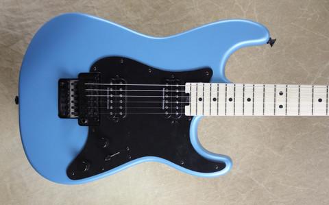 Charvel Pro Mod So-Cal Style 1 Matte Blue Frost Guitar
