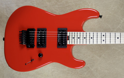 Charvel USA Custom Shop San Dimas 2H Ferarri Red Pointy Headstock Guitar
