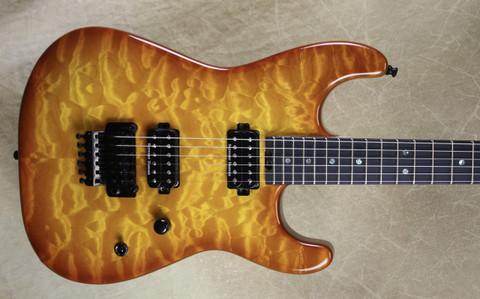 Charvel USA San Dimas Custom Shop 2H Violin Burst Guitar
