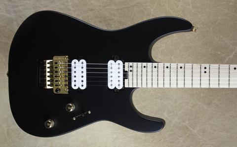 Charvel Pro Mod DK24 FR M Satin Black Guitar with FU Tone Big Block