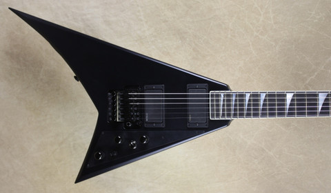 Jackson USA Custom Shop RR1 Randy Rhoads Satin Black Guitar