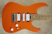Charvel Pro Mod DK24 HSH 2PT CM Caramelized Maple Fingerboard Satin Orange Crush