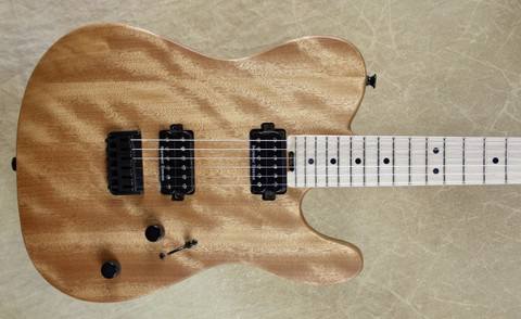 Charvel Pro Mod San Dimas Style 2 HH HT Tele Natural Okoume Guitar