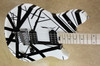 EVH Wolfgang Special Black and White Striped Maple Fretboard Guitar