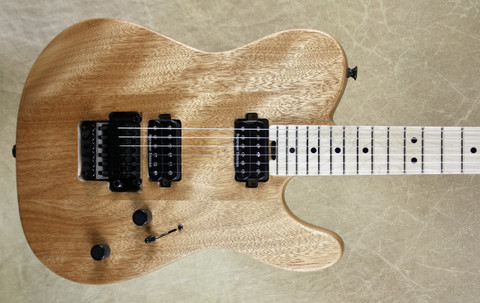 Charvel Pro Mod San Dimas Style 2 HH Tele Natural Okoume Guitar