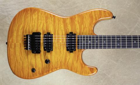 Charvel USA San Dimas Custom Shop 2H Solar Burst Quilt Top Guitar