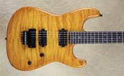 Charvel USA San Dimas Custom Shop 2H Solar Burst Quilt Top Guitar