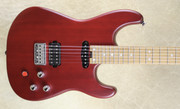 Charvel Limited Edition Justin Aufdemkampe Signature Pro-Mod SD24 Trans Red Guitar
