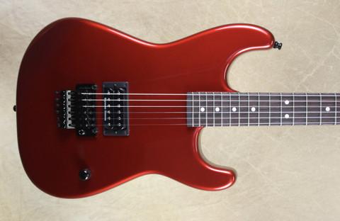 Charvel USA Custom Shop San Dimas 1H Candy Apple Red Pointy Headstock Guitar