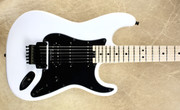 Charvel USA Custom Shop SoCal HSS Satin Snow White Guitar