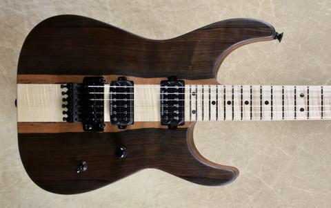 Jackson USA Custom Shop SL2H Soloist Mike Shannon Built Malaysian Blackwood Top Guitar