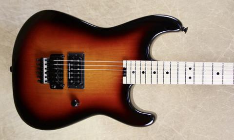 Charvel USA Custom Shop San Dimas 1H 3 Tone Sunburst Guitar