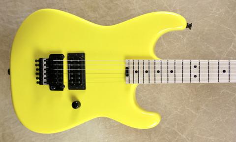 Charvel USA Custom Shop San Dimas 1H Graffiti Yellow Guitar