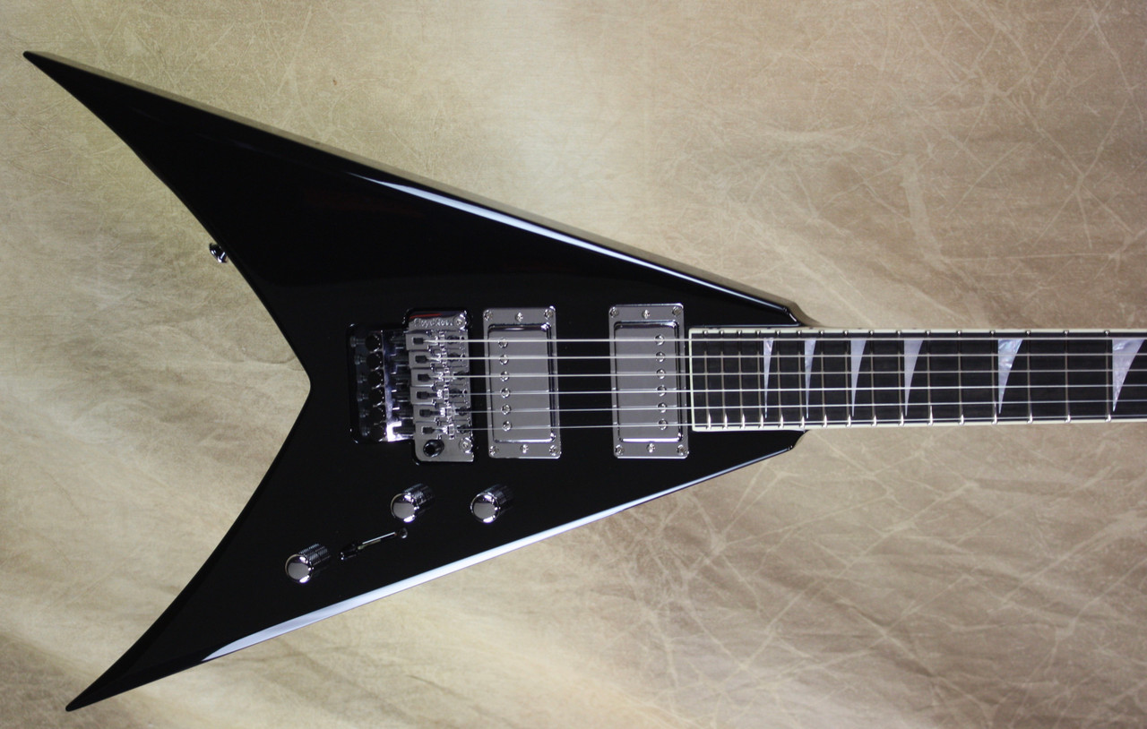 Jackson USA Custom Shop KV2 King V Black Chrome Hardware Guitar