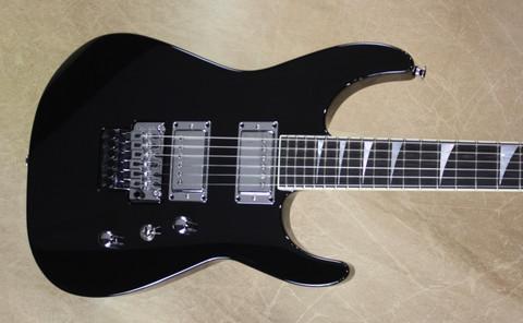Jackson USA Custom Shop SL2H Soloist Black Chrome Hardware Guitar