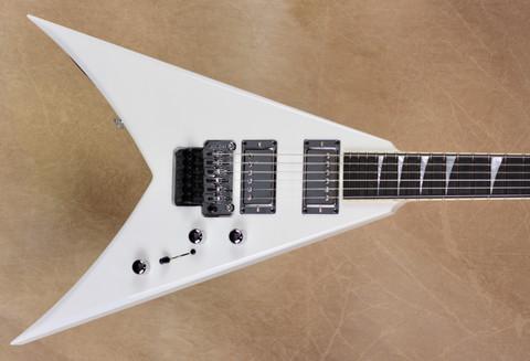 Jackson USA Custom Shop KV2 King V Snow White Chrome Hardware Guitar