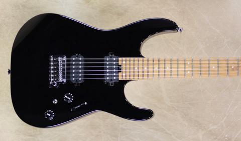 Charvel Pro Mod DK24 2H 2PT CM Gloss Black Guitar